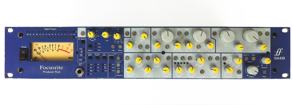 Процессоры Focusrite ISA430 MKII