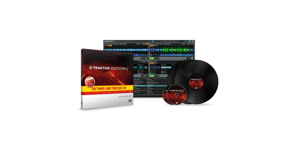 Пластинки с тайм-кодом Native Instruments Traktor Scratch Pro 2 Kit