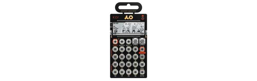 Сэмплеры Teenage Engineering PO-33 K.O!