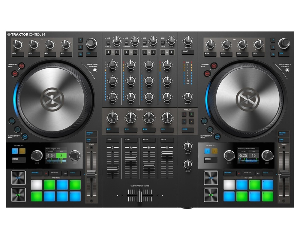 DJ-контроллеры Native Instruments Traktor Kontrol S4 MK3
