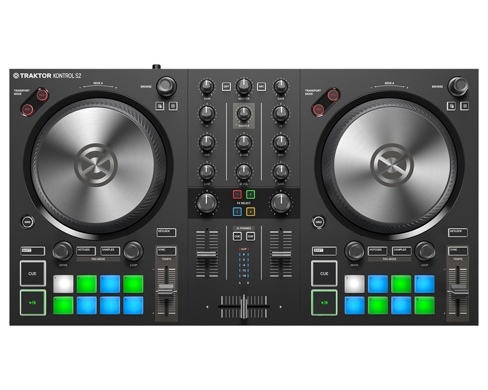 DJ-контроллеры Native Instruments Traktor Kontrol S2 MK3