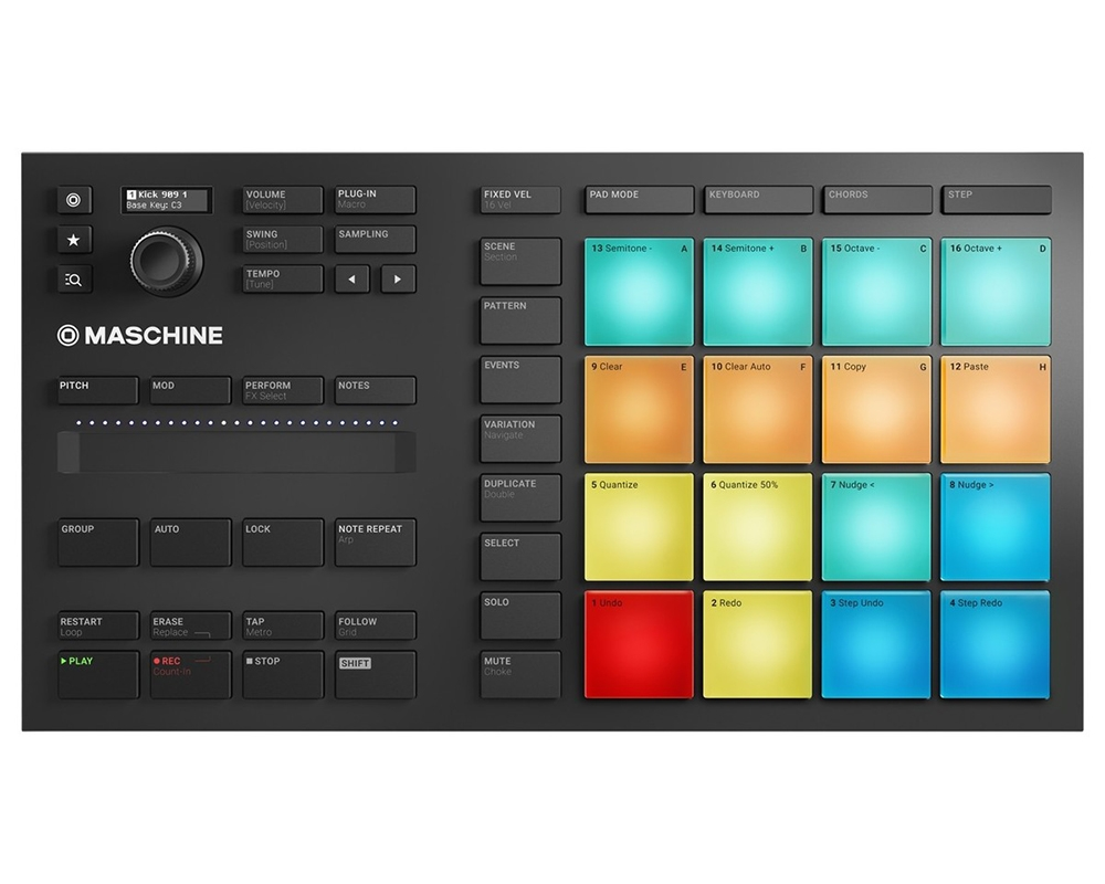DJ-контроллеры Native Instruments Maschine Mikro MK3