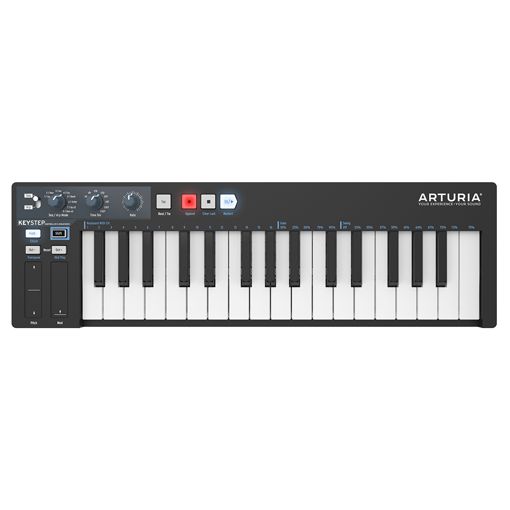 Midi-клавиатуры Arturia KeyStep Black Edition