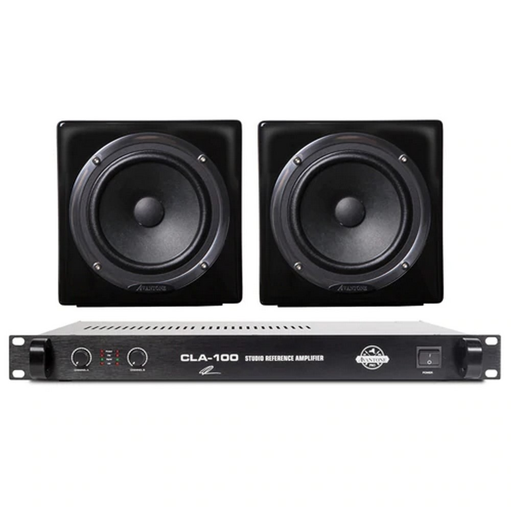 Студийные мониторы Avantone Mixcubes & CLA100 Monitor Bundle (Black)