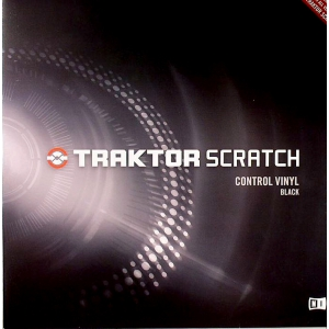 Native Instruments Traktor Scratch Pro Control Vinyl Black