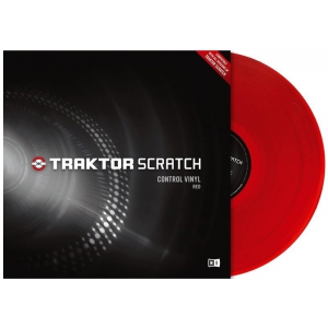 Native Instruments Traktor Scratch Pro Control Vinyl Red Пластинки с тайм-кодом
