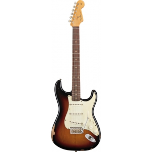 Fender 60'S CLASSIC PLAYER STRATOCASTER RW CUSTOM PALE 3-COLOR SUNBURST