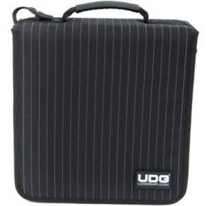 UDG CD Wallet 128 Black/Grey Stripe
