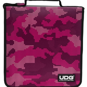 UDG CD Wallet 128 Camo/Pink