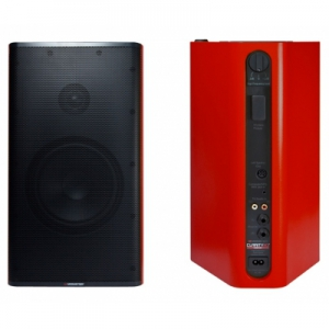 Monster Beats Clarity HD Monitor Speakers Red