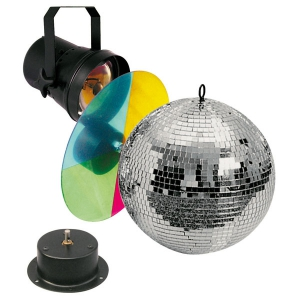 Showtec Mirrorball set
