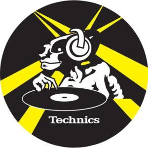 Technics 2-PACK SLIP PAD Yellow