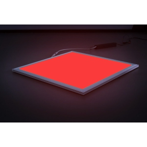 RGB Led panel Red