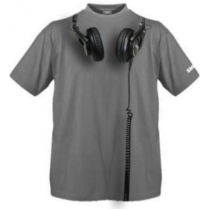 Shure T-SHIRT WITH SHURE SRH HEADPHONES