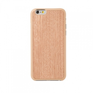 OZAKI O!coat-0.3+Wood iPhone 6 Sapele
