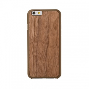 OZAKI O!coat-0.3+Wood iPhone 6 Walnut