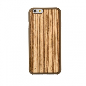 OZAKI O!coat-0.3+Wood iPhone 6 Zebrano