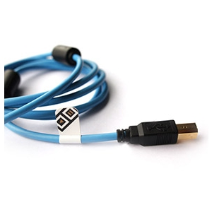 DJ Tech Tools Chroma Cables Blue (straight)