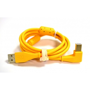 DJ Tech Tools Chroma Cables Orange (angled)