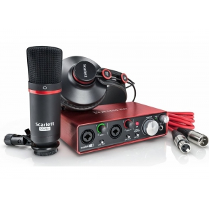 Focusrite Scarlett 2i2 Studio NEW