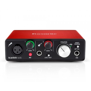 Focusrite Scarlett Solo NEW Звуковая карта