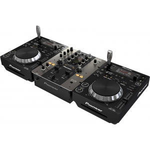 Pioneer DJ 250 Pack black
