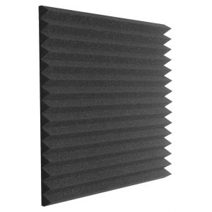Auralex 2'' Studiofoam Wedges - 2'x2' 12-pack, Charcoal Акустический поролон