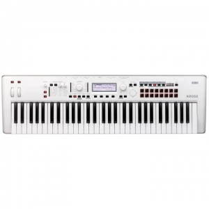 KORG Kross 2 61 Pure White
