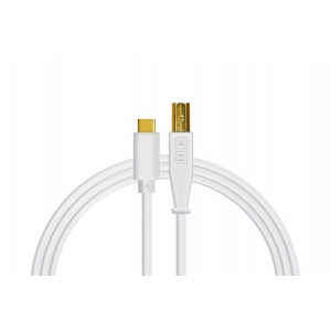 DJ Tech Tools Chroma Cables USB-C White (straight)
