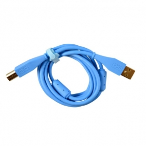 DJ Tech Tools Chroma Cables USB-A Blue (straight)