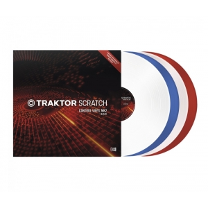 Native Instruments Traktor Scratch Pro Control Vinyl MK2 Blue