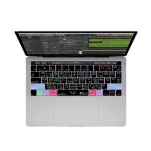 KB Cover Logic Pro X Keyboard Cover MacBook Pro (Late 2016+) w/Touch Bar
