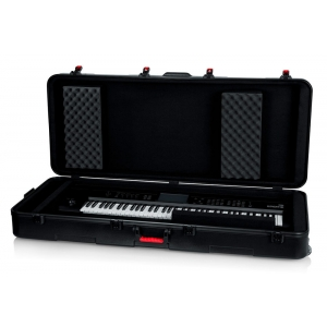 Gator TSA ATA Deep 76-Note Keyboard W/Wheels