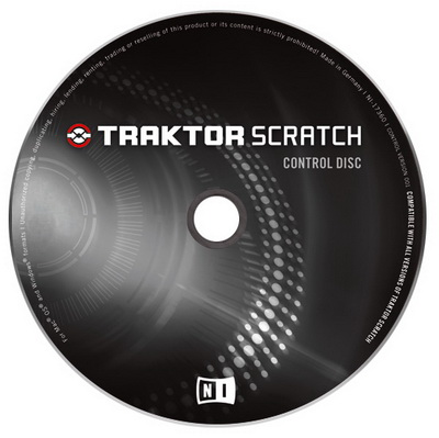Native Instruments Traktor Scratch Pro Control CD
