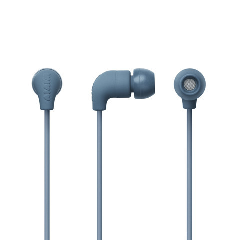 AIAIAI Pipe Earphone w/mic Petrol Gradient