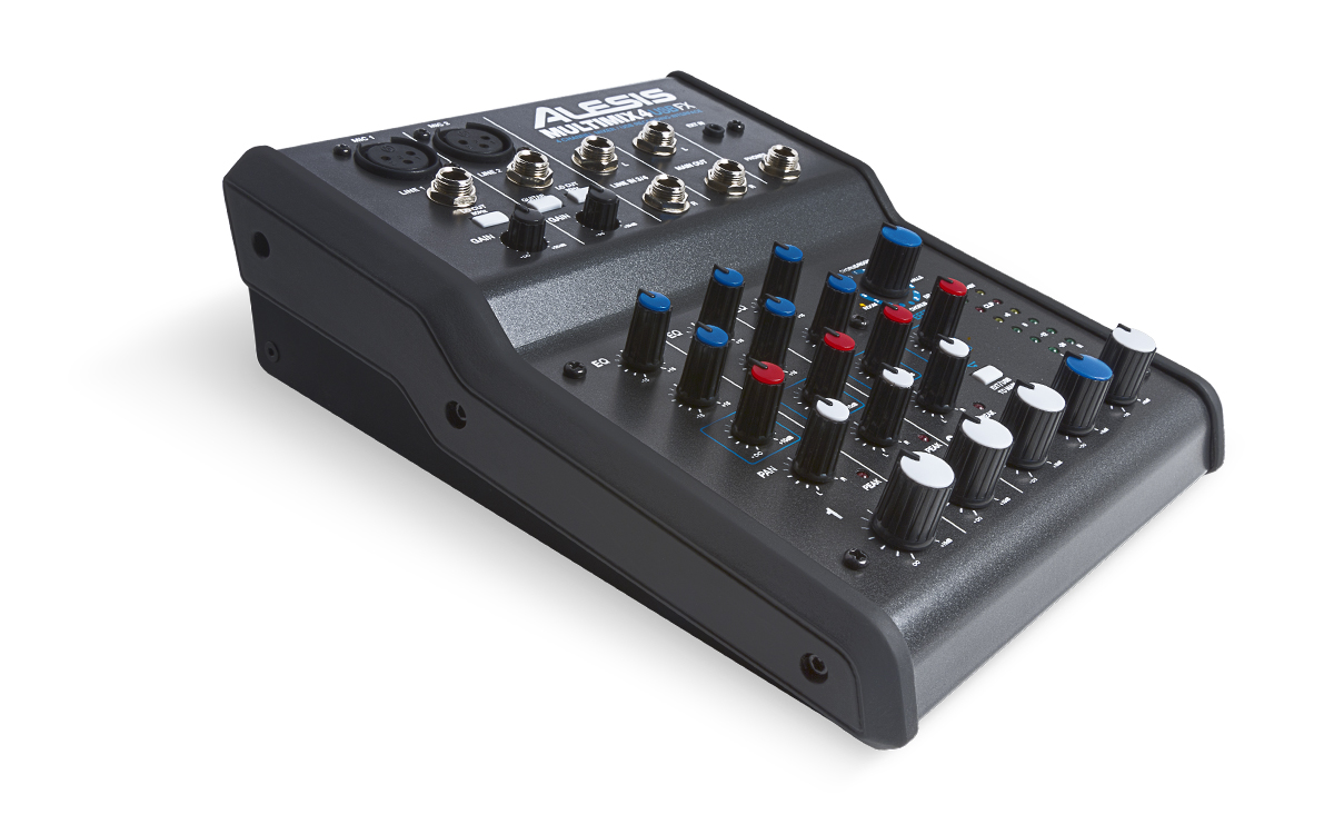 Dj-микшер Alesis MULTIMIX 4 USB FX