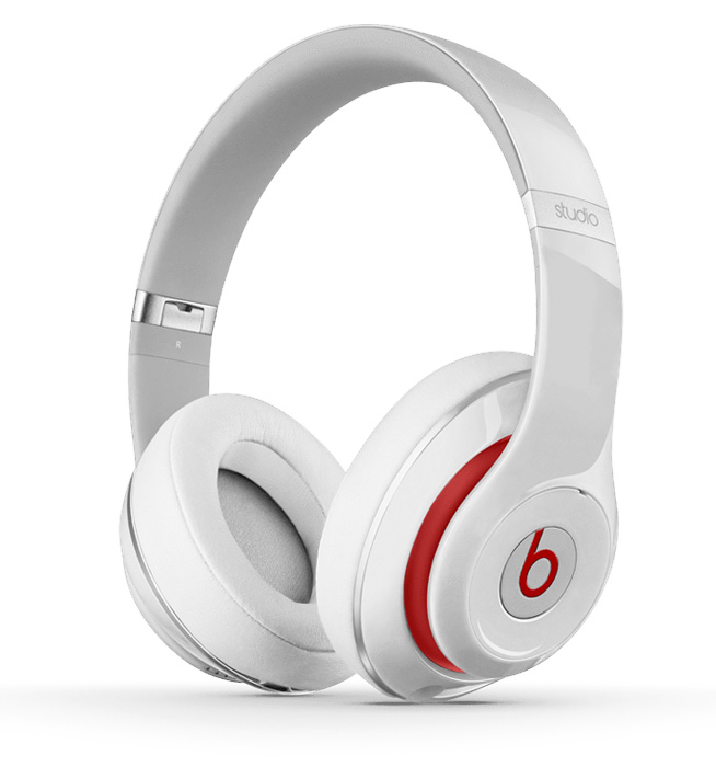 Beats by Dr. Dre Studio 2.0 Over Ear Headphone White