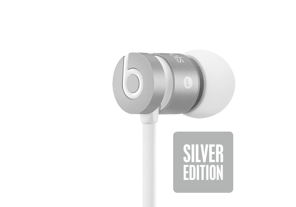Beats by Dr. Dre UrBeats Silver
