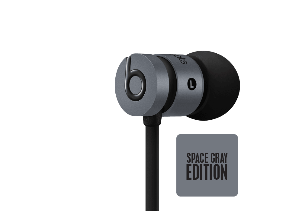Beats by Dr. Dre UrBeats Space Gray