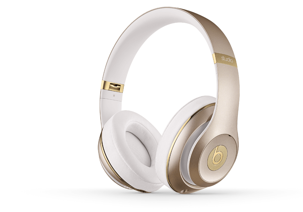 Beats by Dr. Dre Studio 2.0 Over Ear Headphone Champagne