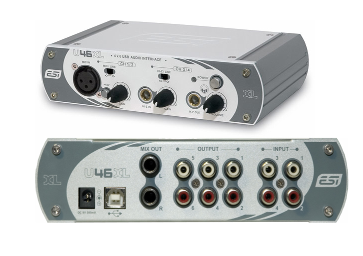 ESI U46 AUDIO DRIVER WINDOWS